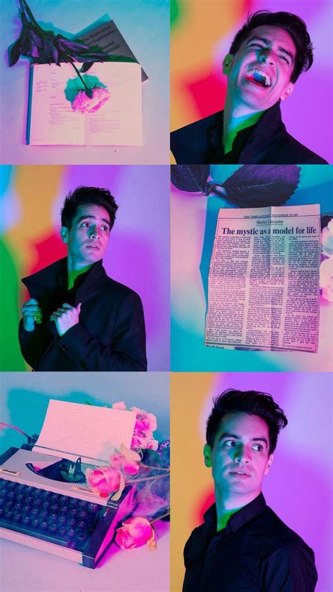 Aesthetic Brendon Urie Wallpaper Iphone by Brendon Urie Aesthetic From Panic At The Disco Wallpaper