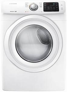 Samsung White Front-load Gas Dryer  A3
