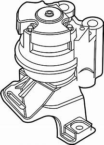 Ford Fusion Engine Mount  Front   Liter  Transaxle  Trans