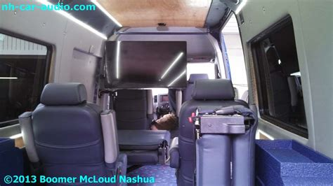 mercedes sprinter van custom family entertainment boomer