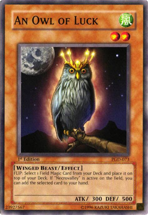 owl  luck yu gi  fandom powered  wikia