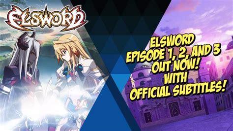 elsword anime series elsword debuts three episodes of new anime series