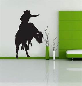 Wall decal good look western wall decals cheap western for Good look western wall decals