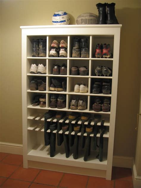 building shoe racks woodworking projects plans