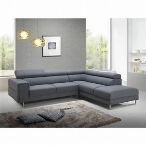 canape d39angle droit design 5 places avec meridienne With tapis de couloir avec canapé d angle 200x200