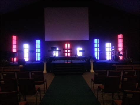 tri filters church stage design ideas