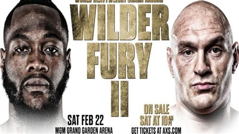 >>2020•[BOXING-LIVE]@Deontay Wilder vs Tyson Fury 2 ...