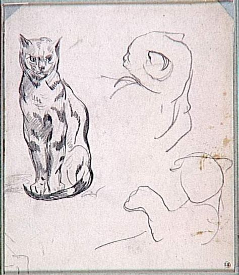 eug 232 ne delacroix 1798 1863 the great cat