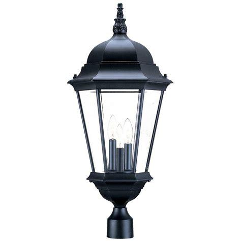 Acclaim Lighting Richmond 3light Matte Black Outdoor Post