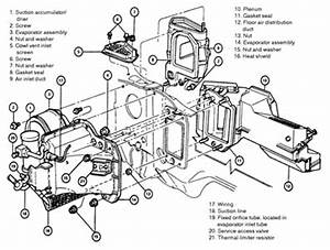 solved heater core replacement fixya With evaporator air conditioning wiring diagram for 1959 chevrolet passenger car