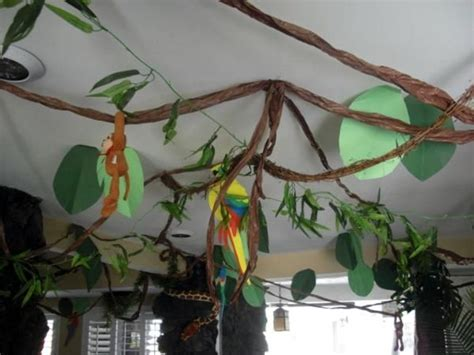 jungle theme decorations ideas  pinterest