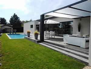 Maison Architecte Plain Pied : maison d architecte plain pied ~ Melissatoandfro.com Idées de Décoration