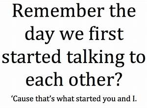 Remember the day we first started talking |... - Tumblr ...