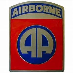 "U.S. 82nd Airborne ""AA"" 2"" Trailer Hitch Receiver Cover ..."