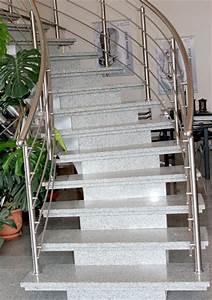 Treppenstufen Außen Beton : betontreppen und stahlbetontreppen mit treppenbalg aus granit ~ Frokenaadalensverden.com Haus und Dekorationen
