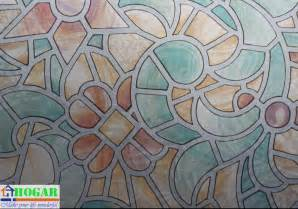Decorative Frosted Window Film Stained Glass