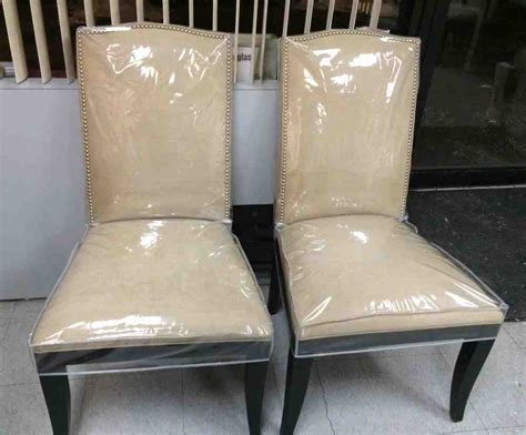 plastic dining room chair covers decor ideas