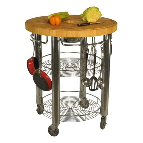 kitchen island table on wheels majestic round kitchen island cart on table caster wheels with small wire whisks and stainless