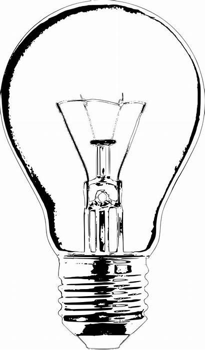 Clipart Lighting Sketch Transparent Lightbulb Clip Bulb