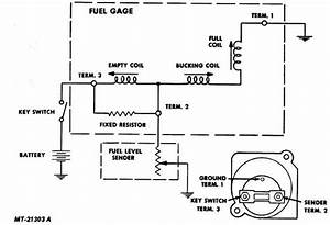 Fuel Gauge To Fuel Cell Sending Unit