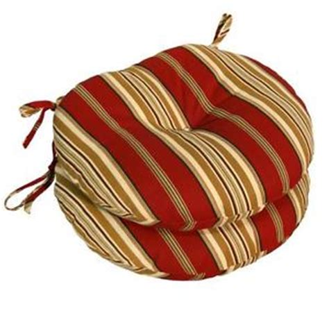 outdoor stripe bistro chair cushions set of 2 15