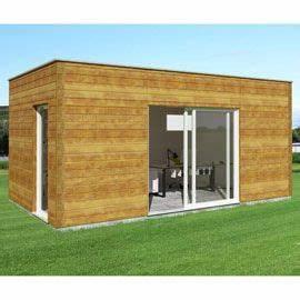 Cabane En Bois Castorama : abri de jardin pool house en bois nano home studio ~ Dailycaller-alerts.com Idées de Décoration