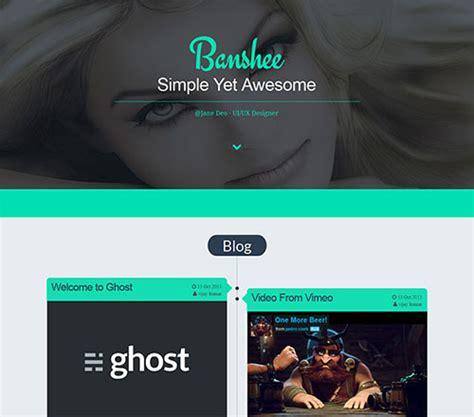 Ghost Themes 40 Premium Responsive Ghost Theme