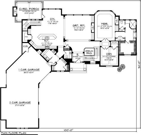 garage house floor plans angled garage one house plans