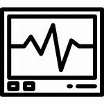 Heart Pulse Rate Medical Icon Electrocardiogram Cardiogram