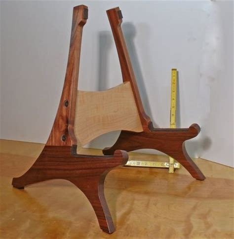 woodwork wood guitar stand plans  plans