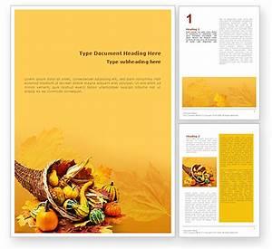 Thanksgiving word template 01615 poweredtemplatecom for Free thanksgiving templates for word