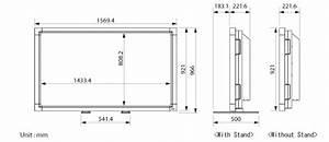 Dimension Tv 65 Pouces : lcd monitor multisync lcd6520l monitor nec display ~ Melissatoandfro.com Idées de Décoration