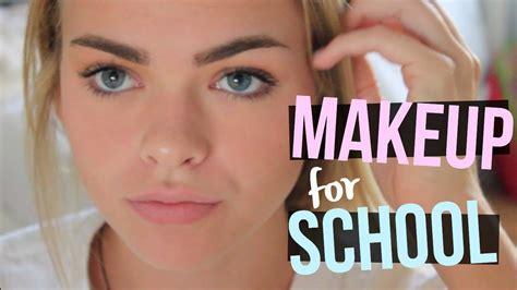 makeup school high school makeup tutorial everyday makeup routine