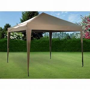 Tonnelle De Jardin Pliante : tonnelle pliante imperm able 3 x 3 m ~ Nature-et-papiers.com Idées de Décoration