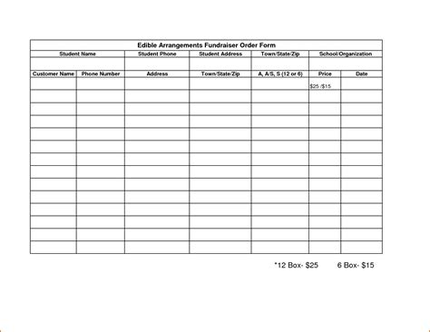 fundraising charts templates fundraising forms templates free sle business loan agreement doc564435 blank order form