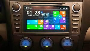 Toyota Camry Dvd  Gps Navigation  Bluetooth  Radio  Camera