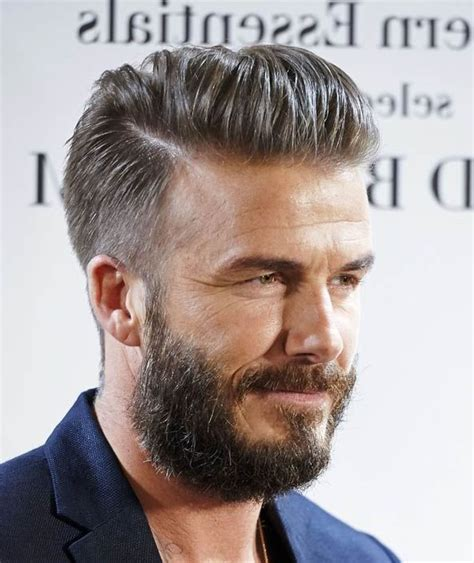 Mens Hairstyles : David Beckham Haircut And On Pinterest