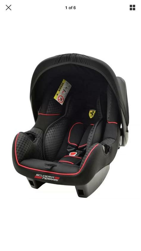 Ferrari ferrari beebop stroller the beebop baby stroller, in elegant red and black, featuring the presence of. GENUINE SCUDERIA FERRARI 0+ INFANT BABY CARRIER / CAR SEAT ...