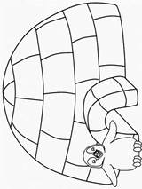 Coloring Pages Winter Igloo Coloringpagebook Animal sketch template