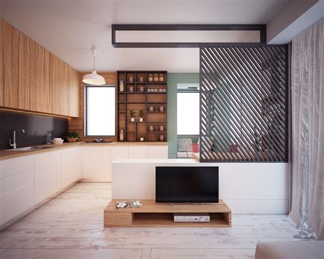 Home Interior Design :  4 Interiors Under 40 Square Meters
