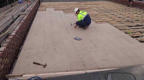 fibreglass grp flat roofing manchester warm fibreglass roof manchester youtube