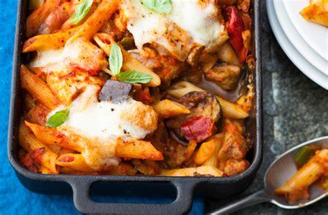 chicken  tomato pasta bake recipe goodtoknow