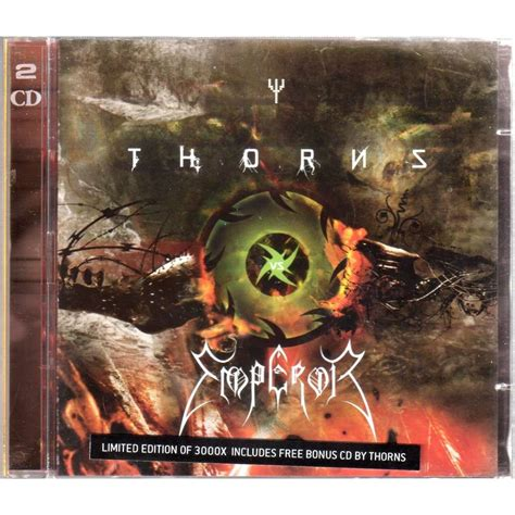 Thorns Vs Emperor By Thorns Vs Emperor, Cd X 2 With Mjlam