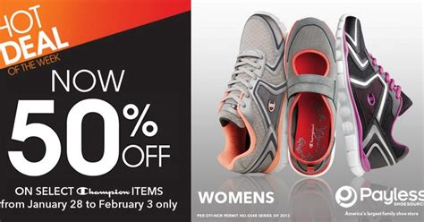 Champion Rubber Shoes Sale At Payless