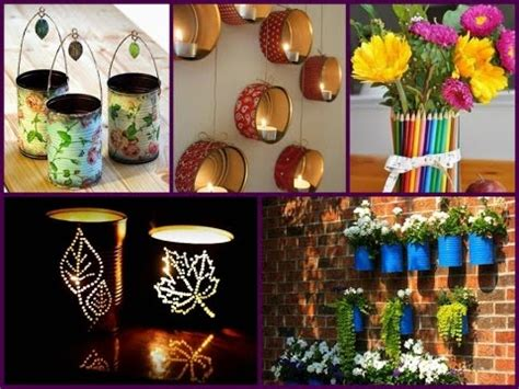 diy recycled tin  craft  cool ideas youtube