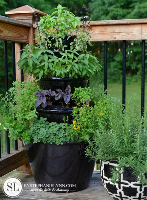 Make Tiered Planter  Woodworking Projects & Plans