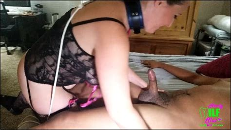 Erin Nerdy Milf Slut Giving A Young Bbc His First Anal