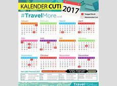 Kalender Cuti 2017 #TravelMore