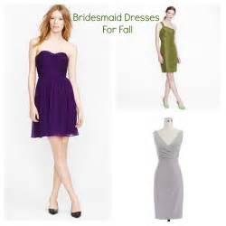 fall dresses for a wedding bridesmaid dresses for a fall wedding rustic wedding chic
