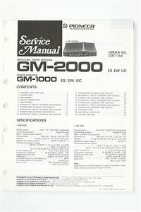 Pioneer Gm Wiring Diagram  Diagram